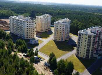 Панорама 9-этажных жилых корпусов
